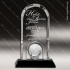 Click this Image to visit the  Arch Shaped Crystal Awards category.