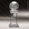 Click this Image to visit the  Globe Shaped Crystal Awards category.