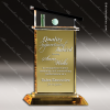 Click this Image to visit the    Gold Accented Crystal Awards category.