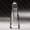 Click this Image to visit the  Obelisk Shaped Crystal Awards category.