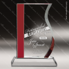 Click this Image to visit the    Red Accented Crystal Awards category.