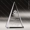Click this Image to visit the  Triangle Shaped Crystal Awards category.