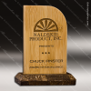 Click this Image to visit the  Wood Accented Trophy Awards category.